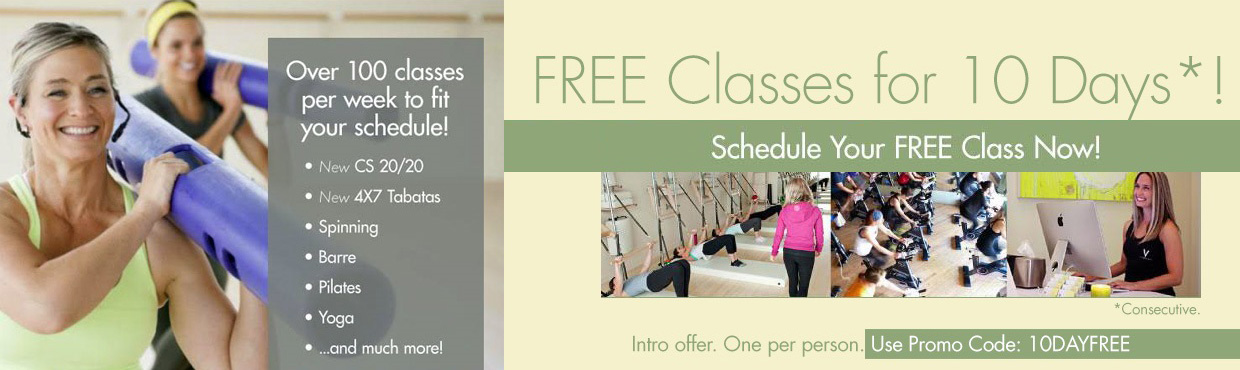 Free Fitness Classes for 10 Days