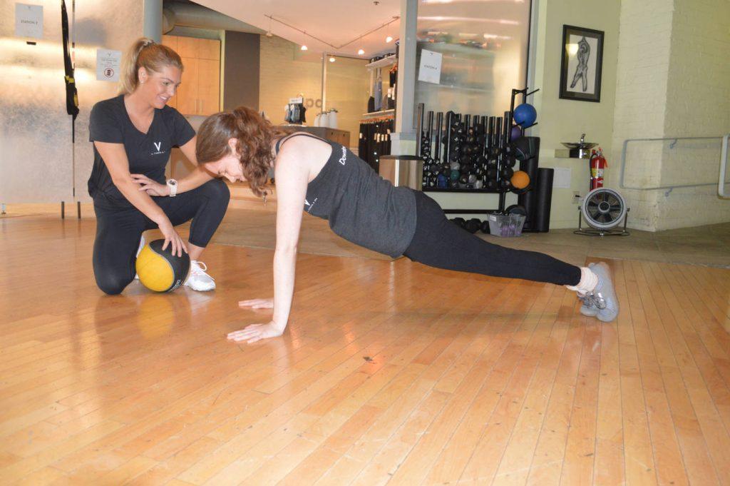 trainer-push-up